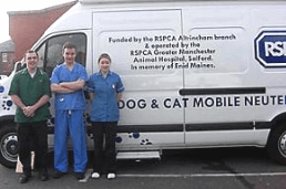 RSPCA mobile spay/neuter clinic. (RSPCA photo)