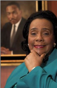 Coretta Scott King in 2003. (Thomas Englund photo)