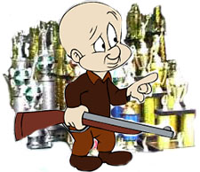 Elmer Fudd, trophy hunter
