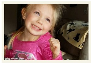 Kara Hartrich,  4,  was the first pit bull fatality of 2014.
