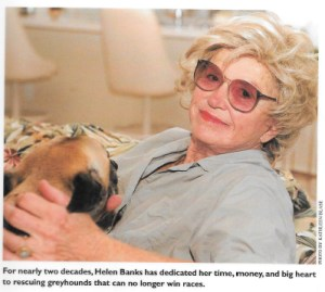 Photo of Helen Banks that illustrated 2002 profile of her by William Waites.