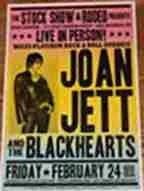 Joan Jett rodeo poster