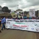 World Animal Day in Nairobi,  Kenya