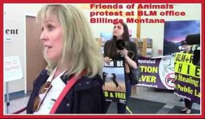 Foreground: Friends of Animals president Priscilla Feral. Background: FoA campaigns director Edita Birnkrant.