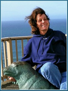 Beth Clifton at Sea Lion Caves.