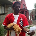 "Arthur Burrell,  ""Cat Man"" of Chicago's West Side,  57"