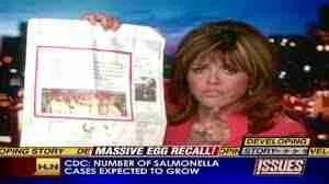 Jane Velez-Mitchell announced the 2010 salmonella outbreak on CNN.