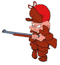 The cartoon hunter Elmer Fudd was reputedly modeled on Dwight Eisenhower, U.S. president from 1952 to 1960.