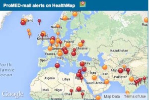 pro med health map