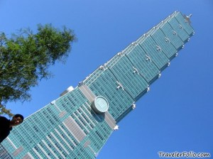 Taipei 101 claims to be the world's tallest building.