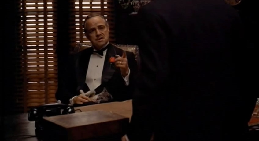 an analysis of the character of vito corleone in the movie the godfather The early life and career of vito corleone in 1920s new york city is portrayed, while his son, michael title: the godfather: part ii (1974.