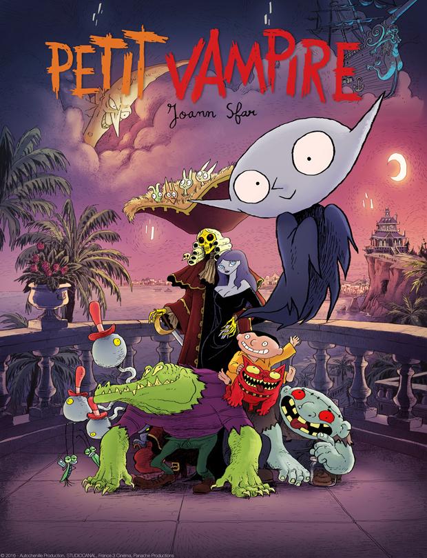 Petit Vampire le film Joann Sfar