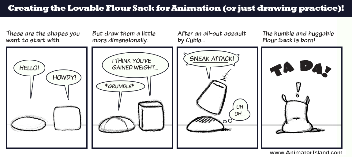 Learning the Flour Sack simply and easily