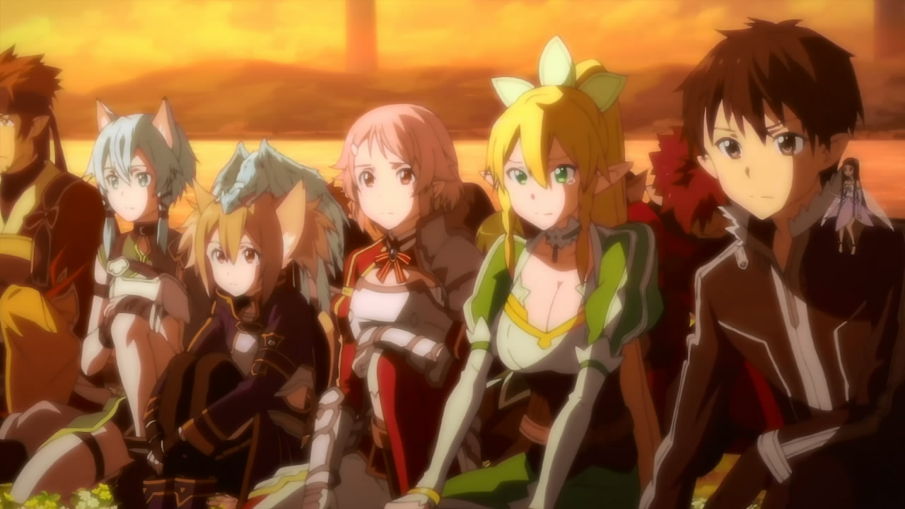 Sword Art Online II   24  Final    Anime Evo Sword Art Online II     24  Final       SAO2 24 2 SAO2 24 3