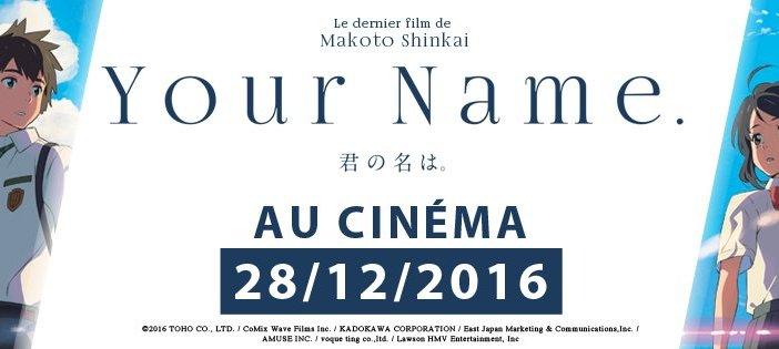 Your Name. à l'affiche en France !