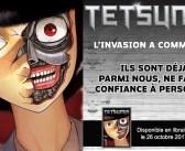 La courte série Tetsumin chez Komikku