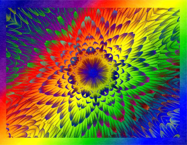 Kaleidoscope Abstract Designs