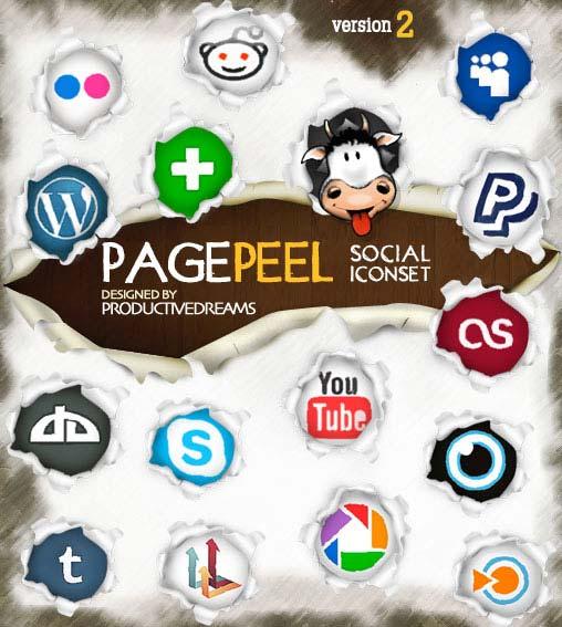 social icon set 2