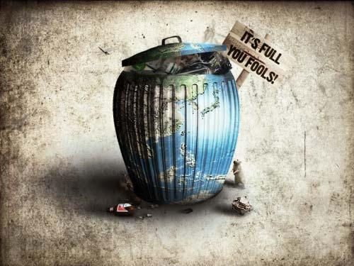 creative arts to alert global warming