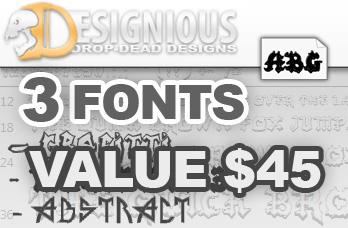 premium font