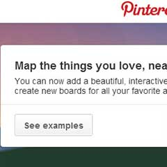 Pinterest Travelers: Pin Your Favorite Places with Map [Update]
