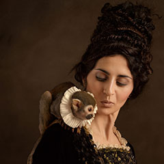 Modern Dutch Portrait Photography Inspired by Flemish Paintings