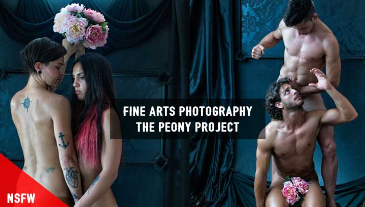 Fine Arts Photography Project – Bond Between Human & Peony