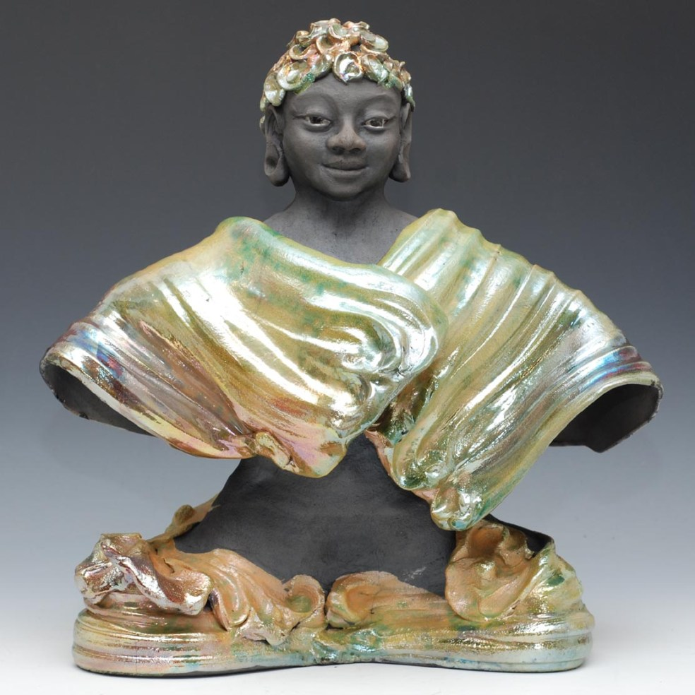 Buddha in Clouded Robes