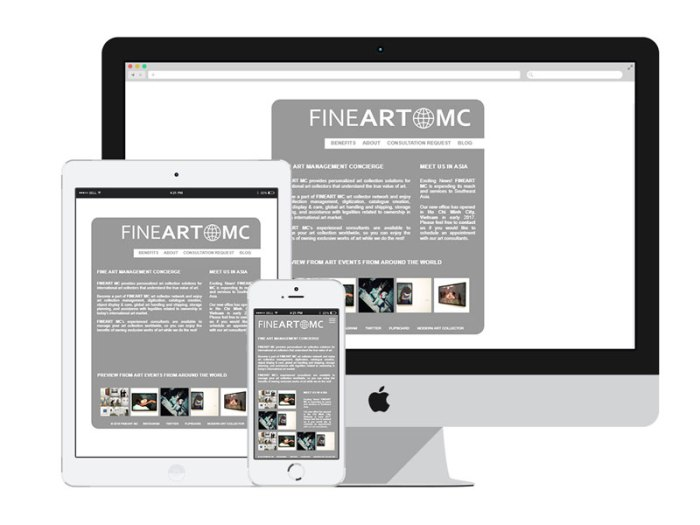 AnitaM Web Design - Fine Art Mc