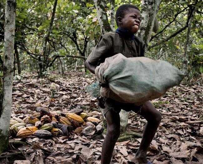 Hayatlarında ilk kez çikolata yiyen Afrikalılar-VİDEO