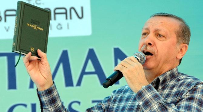 """""""Oy oranları düştüğü için Erdoğan Kur'an'a sarılıyor"""""""
