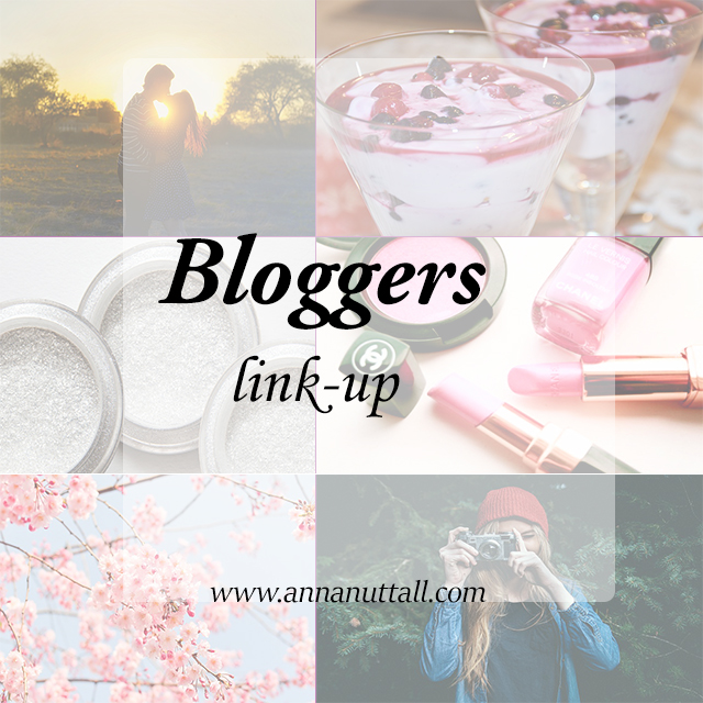 Anna Nuttall Bloggers Link-up 9