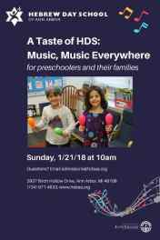 Taste of Hebrew Day School - Music