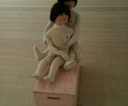 Kunst_mit_Verfallsdatum_Saatchi_Galerie_London_England_Anna_Szermanski_Collage_Papier_Kunst_Puppe_Plastik_12