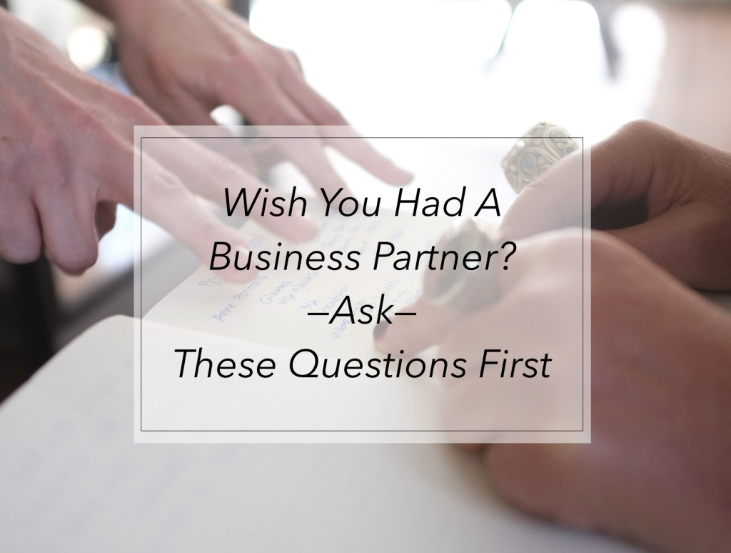 business partner questions