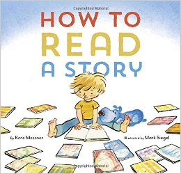Cover of book How to Read a Story by Kate Messner