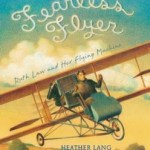 Cover of book, showing Ruth Law flying in a biplane.