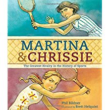 Cover of Martina & Chrissie shows Navratilova and Evert playing tennis