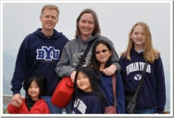 Anne & Eric Isom Family of 6 living in Nanjing China