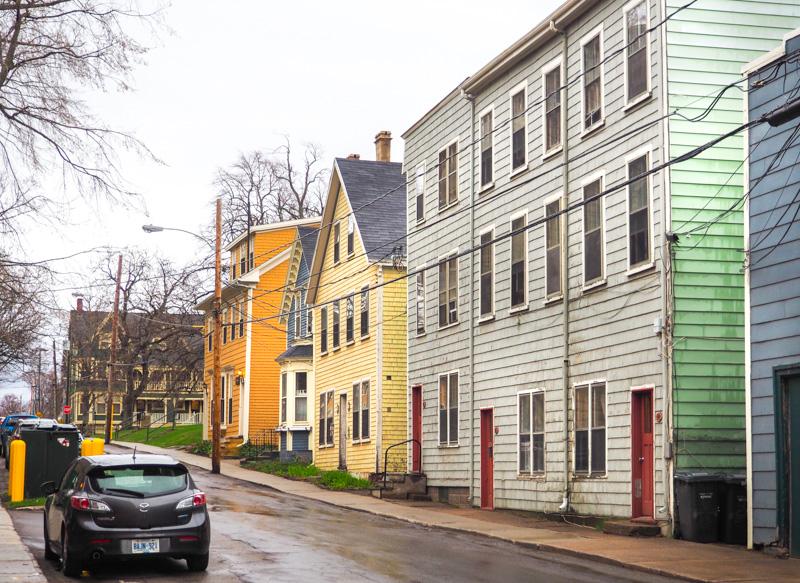 Maisons colorées de Charlottetown