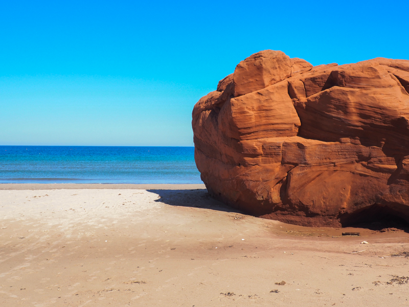 Dunes du nord aux îles de la Madeleine