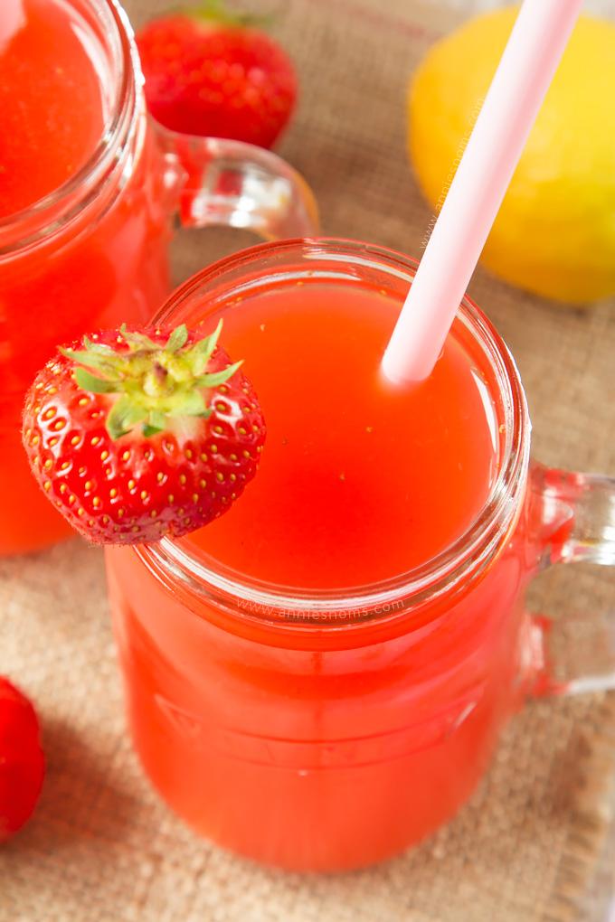 Strawberry Lemonade | Annie's Noms
