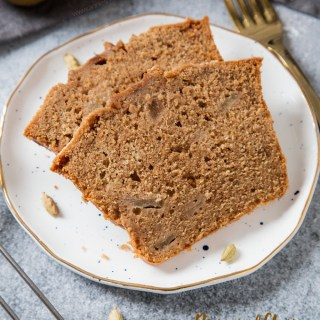Pear and Chai Loaf Cake