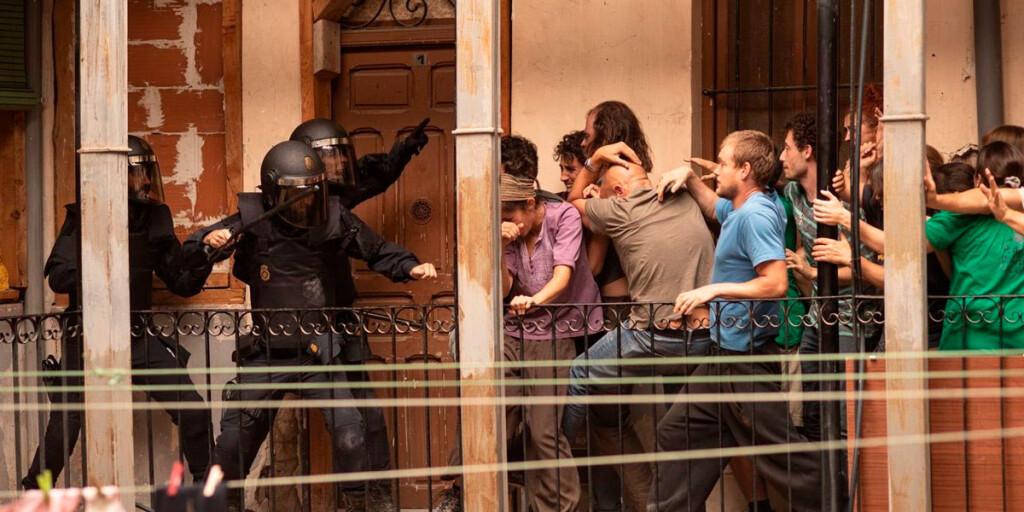 antidisturbios antisommossa riot police