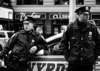 NYPD by Flickr user Brett Sayer