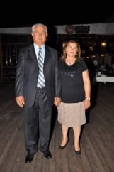 Mutaş AŞ Yön.Krl.Bşk. Murat Şahin ve eşi Namiye Şahin