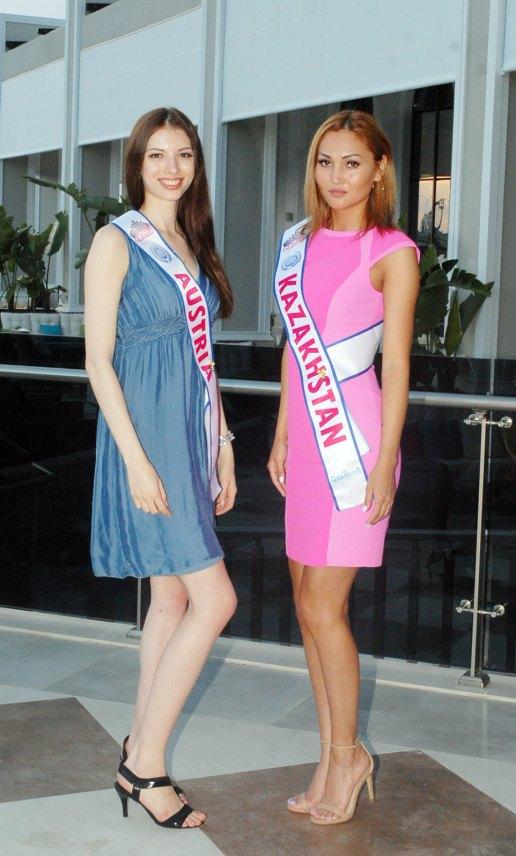 Miss Eurassia Güzellleri Antalya'da Kampa girdi...
