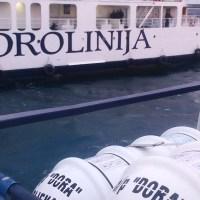 """""""Dora"""" plutala po Zadarskom kanalu"""