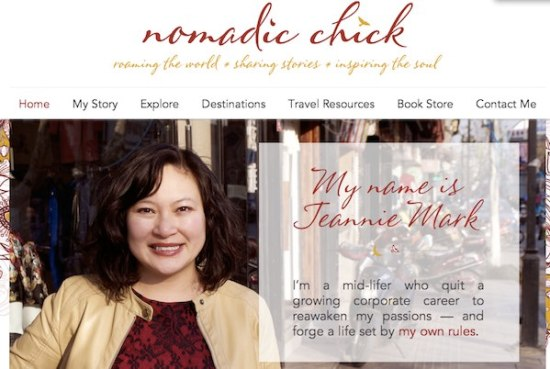 Cool travel blogs - go to Nomadic Chick