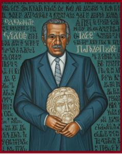 Τάσσος Παπαδόπουλος, εικονογραφία του Γιάννη Γίγα, prosopa.eu